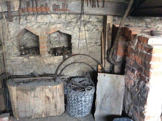 Sumeg, Hongarije: The blacksmith's quarters