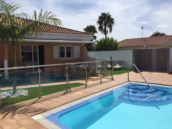 Pool - Picture of Los Leones Bungalows, Gran Canaria - Tripadvisor