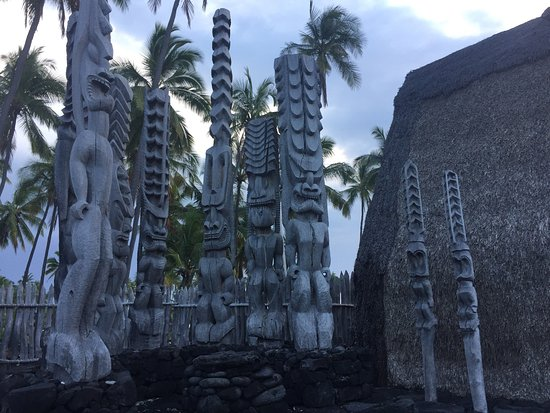 Honaunau, Hawaje: this area was really neat
