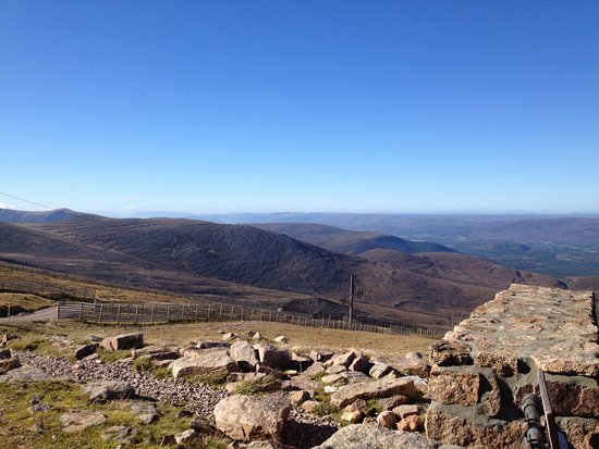 Aviemore, UK: View from the viewing gallery