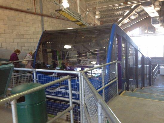 Aviemore, UK: A Cairngorm Mountain Railway car