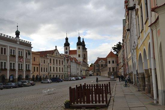 Telc, República Checa: Náměstí Zachariáše z Hradce