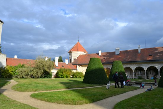 Telc, República Checa: Zámecká zahrada
