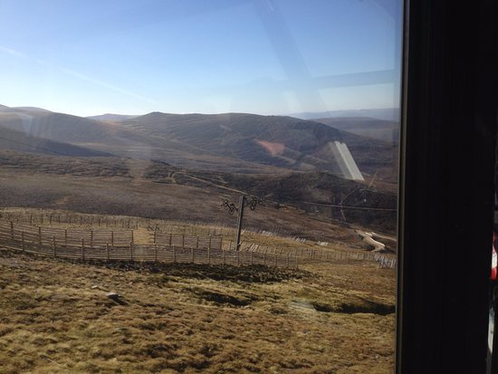 Aviemore, UK: View from the car