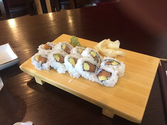 Fortuna, Kalifornia: Alaska roll, 10 pieces