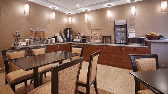 Fergus, Canada: Breakfast room