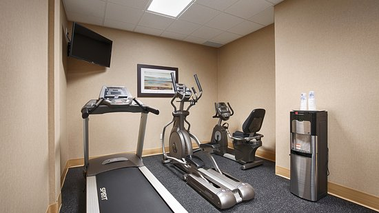 Fergus, Canada: Our well equipped fitness room