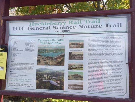 Huckleberry Rail Trail: Come walk this hidden gem