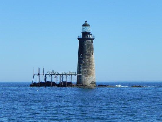 Ram Island Ledge Light: Ram Island Light House