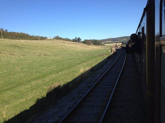 Aviemore, UK: End of the line at Broomhill
