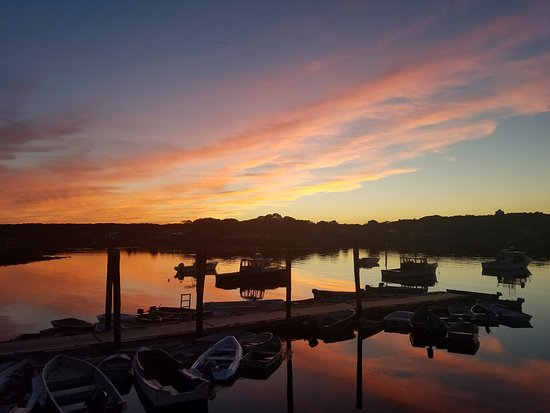 Great Cape Porpoise early autumn sunset