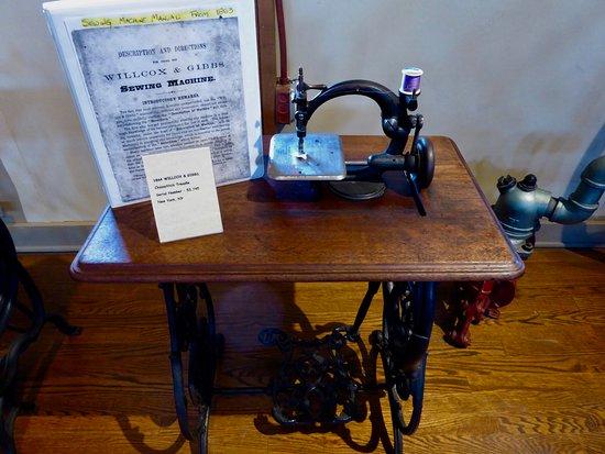 Strasburg, VA: 1864 Sewing Machine