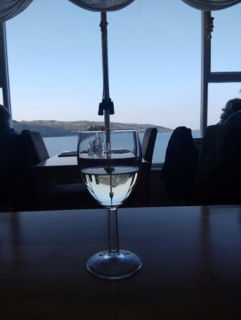 Coverack, UK: A place where the glass is always half full ....