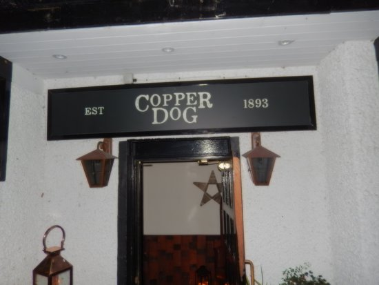 Dufftown, UK: The Copper Dog at the Craigellachie Hotel