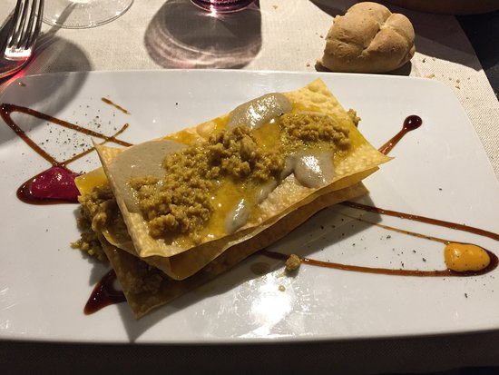 Casanova di Pescille: lasagnette au safran