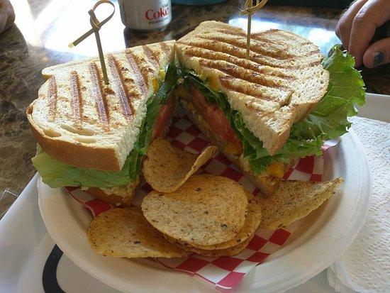 Kirkland, WA: Mango curry chicken panini