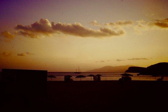 Mylopotas Beach: Tramonto