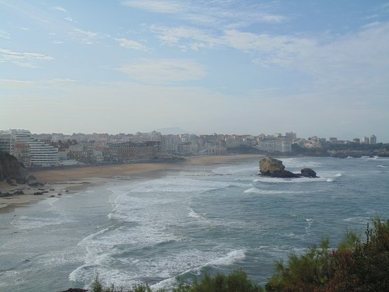 Phare de Biarritz : Le panorama au pied du phare