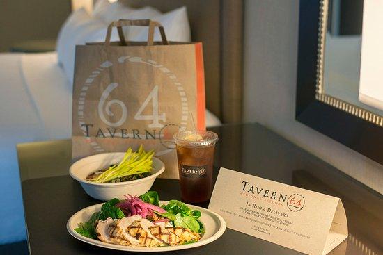 Reston, VA: In-Room Dining from Tavern 64