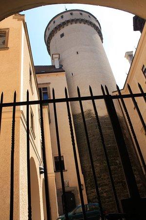 Bohemia, Tjekkiet: Главная башня замка