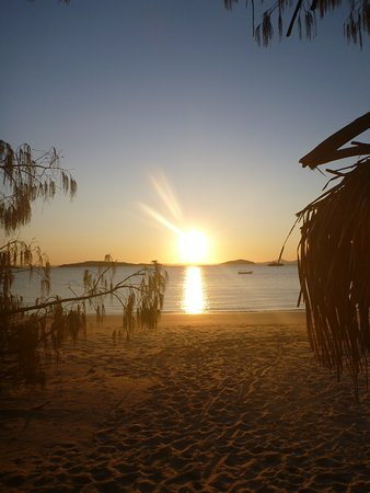 Great Keppel Island, Australië: A beautiful sunset