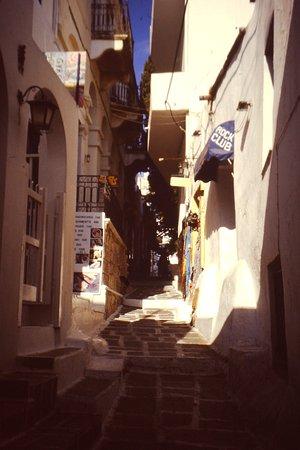 Chora, Grekland: Verso la meta