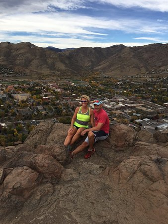 Golden, Colorado: Great little hike with a sweet view!