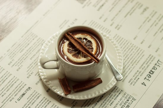 Ginger bread Hot Chocolate, single origin Sao Thome