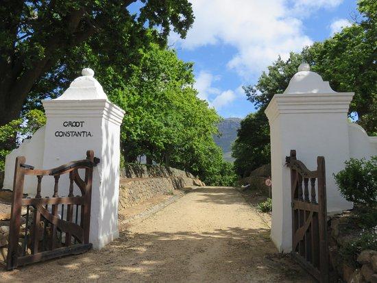 Constantia, Sudáfrica: Main entrance