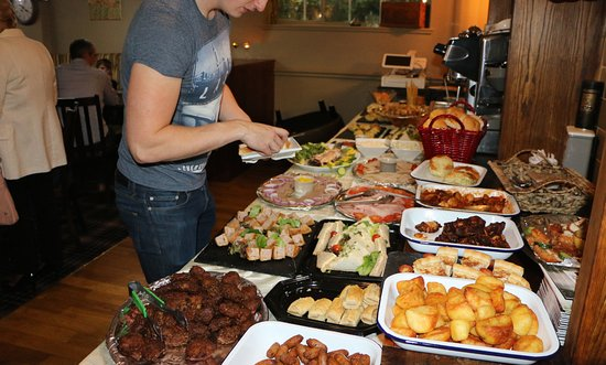 Redditch, UK: the celebration buffet at The Village Inn