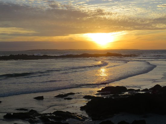 Bloubergstrand, África do Sul: Sunset from Blue Peter