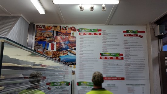 Narre Warren, Australia: Time to see the menu