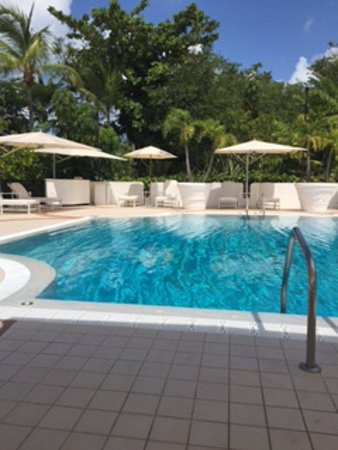 Terres Basses, St. Maarten-St. Martin: Pool area