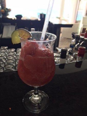 Belmond La Samanna: Strawberry daiquiri
