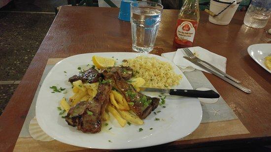 Kokkinidis Restaurant: Lamb chop
