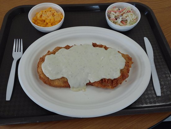 Myrtle Creek, OR: Chicken Fried Steak made with Pork loin and homemade country style gravy.