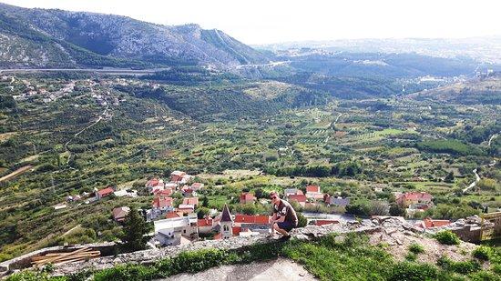 Клис, Хорватия: Ausblick von Klis
