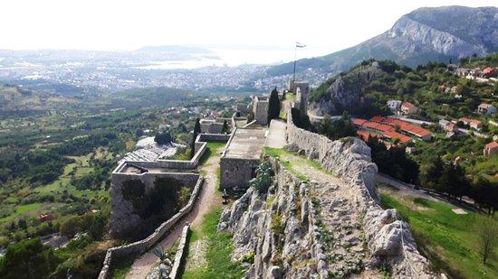 Клис, Хорватия: Festung Klis