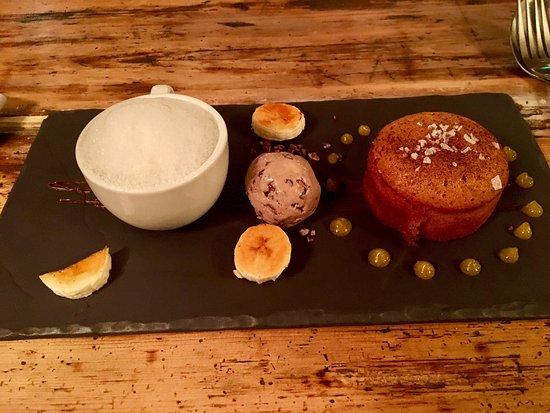 Cranborne, UK: Best pudding.... ever??? Maybe