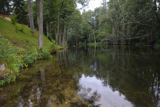 Rezerwat Krutynia: rzeka Krutynia