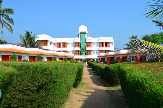 Neel Nirjaney: Resort view from garden