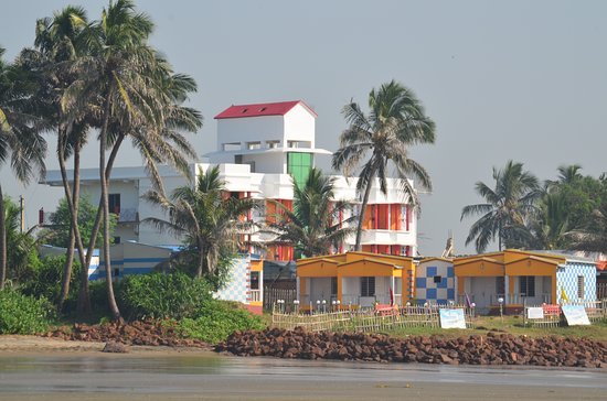 Neel Nirjaney: Resort view from beach