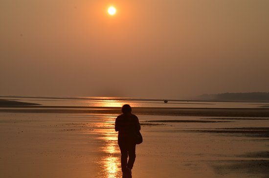 Neel Nirjaney: Sunset at beach