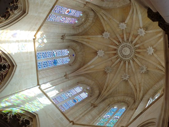 Batalha, Portugal: beautiful ceiling