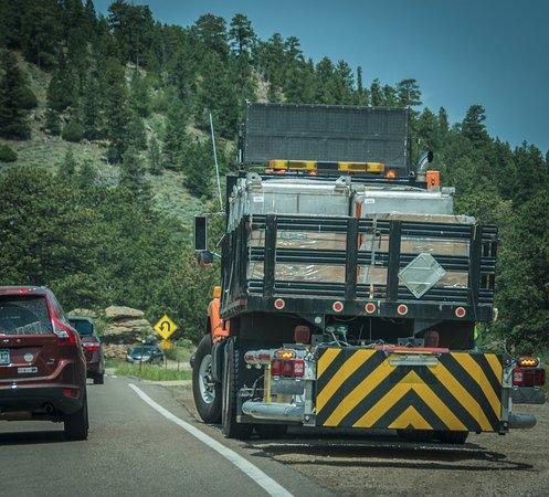 Peak to Peak Scenic Byway: Peak To Peak Traffic Jam in June