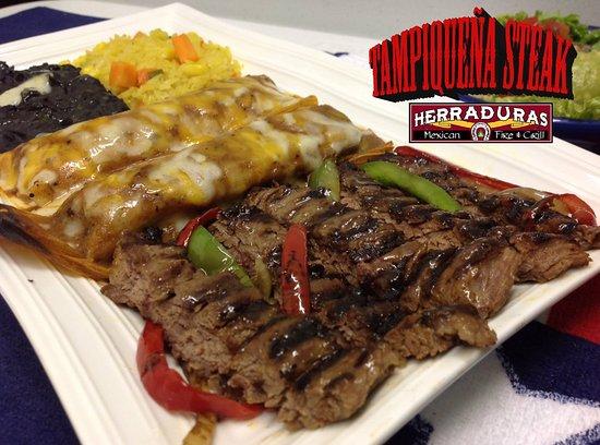 Lufkin, TX : Tampiquena Steak
