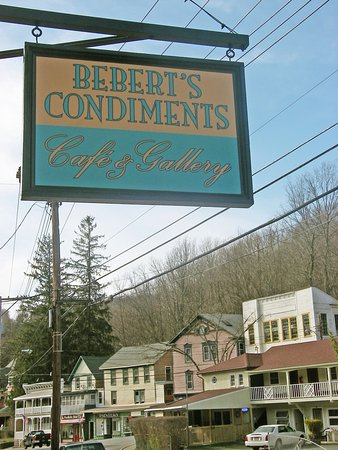 Fleischmanns, NY: Beberts Condiments Cafe & Gallery