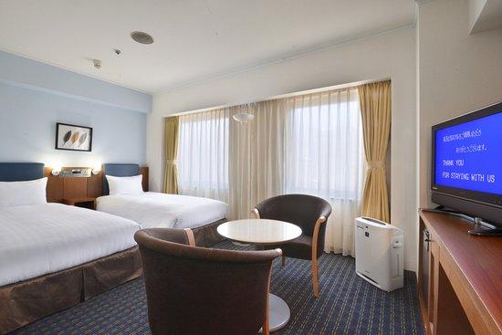 Premier Hotel–CABIN–Shinjuku: Twin Bedded Room