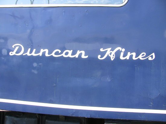 Bowling Green, KY: The Dining car was called Duncan Hines due to Duncan Hines being a local establishment.