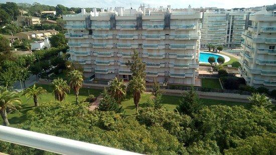 MedPlaya Piramide Salou: vista desde el balcón de la habitación